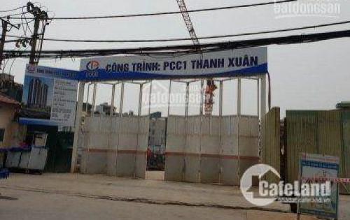 CC quận Thanh Xuân PCC1 giá từ 1,6 tỷ căn 2PN