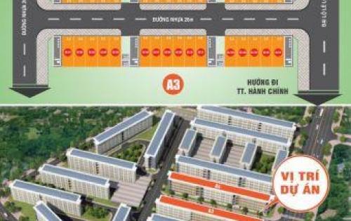 Bán nhà mặt tiền cách trung tâm hành chính 1.5km