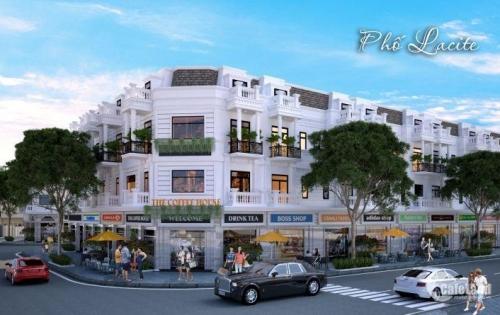 Nhà phố thương mại xây sẵn 1 trệt, 2 lầu, 1 tầng mái