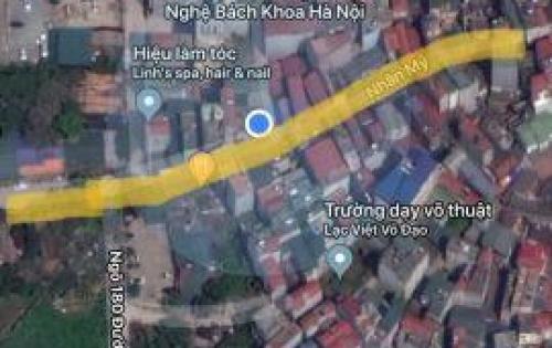 !!!CC bán 36m2 đất ô tô đỗ cửa giá 66tr/m2 tại Nhân Mỹ, Mỹ Đình