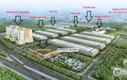 Dự án đất nền Vincom Uông Bí giá từ 12tr/m2