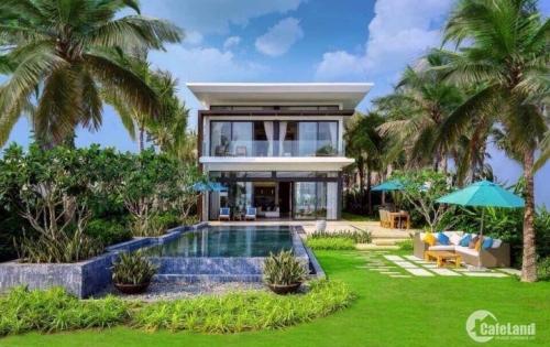 Biệt thự biển Melia Hồ Tràm chỉ 20tr/m2 căn villa có hồ bơi riêng,full nội thất; có sổ hồng sở hữu