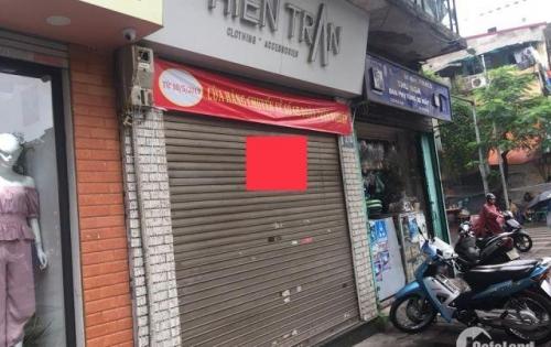 Cho thuê nhà mặt phố Bùi Thị Xuân -- Hai Bà Trưng nhà nằm trên khu sầm uất