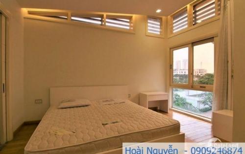 Villa phường Thảo Điền Q2 diện tích lớn, 4PN, cho thuê 82 triệu/tháng. LH 0909246874