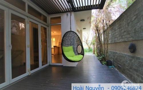 Cho thuê Villa sân vườn, hồ bơi 183 m2, không gian mở phù hợp văn phòng, 77 tr/th