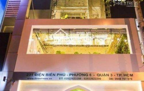 Vị trí mặt tiền đường Điện Biên Phủ, tuyến đường thuận tiện đi đến các quận trung tâm thành phố.