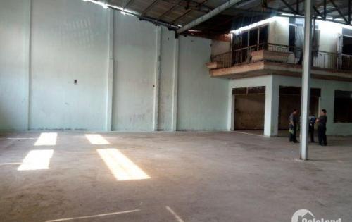 Cho thuê kho xưởng 20m * 45m đường QL1A, Bình Hưng Hoà, Bình Tân.