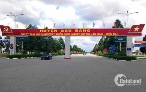 Đất mặt tiền đường ĐT749C,nằm gon trong khu công nghiệp Bàu Bàng
