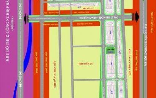 Dự án 1/500 liền kề KCN Bàu Bàng, sổ đỏ, thổ cư
