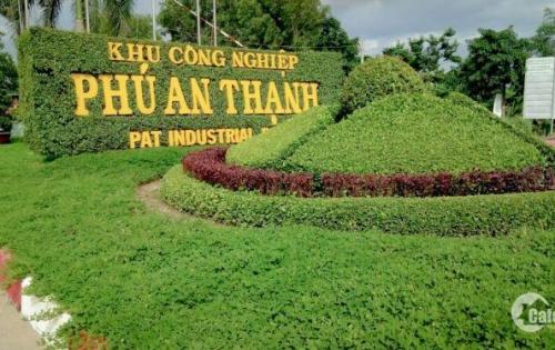 Đất nền KCN Phú An Thạnh. Sổ hồng công chứng ngay, DT 5x20m = 100m2 thổ cư, giá 9tr/m2