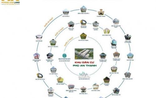 Đất nền đối diện  KCN Phú An Thạnh-Long An, cơ hội vàng đầu tư năm 2019, LH: 0931044979