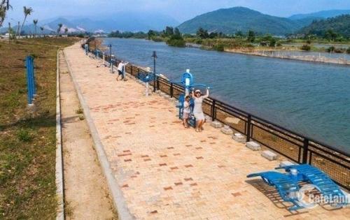 Bán lô 2 mặt tiền 350m2 khu Đảo Nổi, đường Thăng Long, Đà Nẵng; vew sông Hàn, giá chưa qua đầu tư.