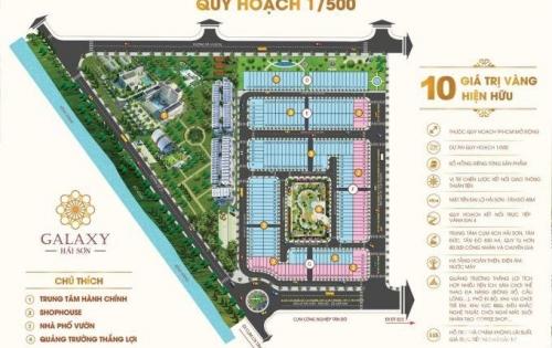 •Mở bán dự án galaxy Hải Sơn ngay trung tâm Đức Hòa giá chỉ từ 799tr/nền