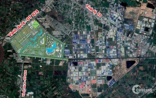 E-City Tân Đức - Siêu phẩm dự án Xanh 356ha tại vùng ven Sài Gòn