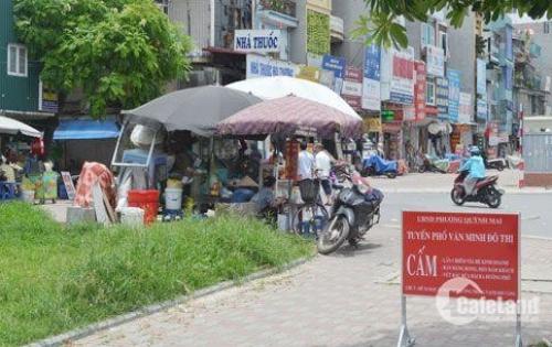 Chính chủ xác định bán 80m2 đất Mặt phố Thanh Nhàn, đối diện bệnh viện Thanh Nhàn Kinh doanh sầm uất 17.2 tỷ