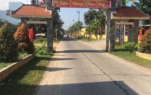 Bán đất mặt tiền đường chính Thôn Quang Châu, cách quốc lộ 1A chỉ 400m, đường bê tông 5m vỉa hè 3m