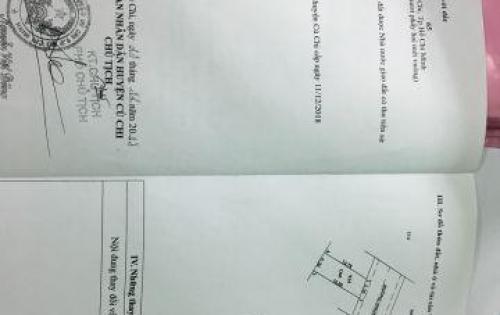 Bán đất ngay chợ Sáng Tân Thạnh Đông, sổ riêng , DT 80m2.