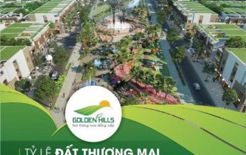 Đất nền dự án Golden Hills city Đà nẵng giá chỉ từ 20tr/m2 có ngay lô góc, sổ đỏ trao tay