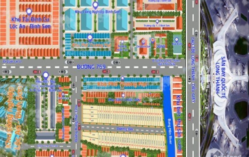 Đất Bình Sơn Long Thành Đồng Nai giá chỉ 7,2tr/m2