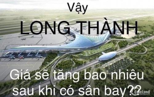 Dự án cực Hot!!! Mở bán đất đợt 1 đất vàng sân bay Long Thành chỉ từ 6,5 triệu/ m2