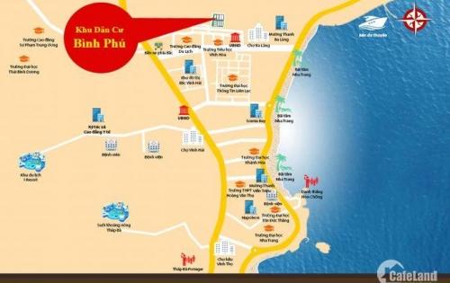 Cần bán lô đất hướng nam đường số 6 rộng 8m, đối diện chung cư Bình Phú, giá chỉ 22tr/m2