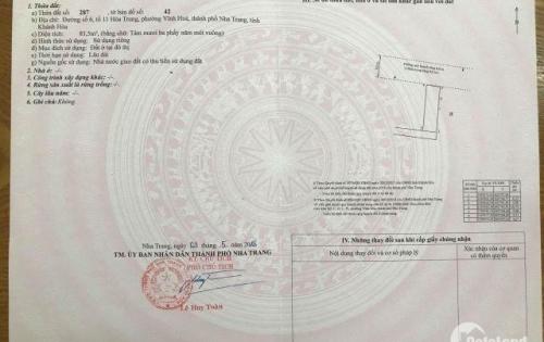 Cần bán gấp lô đất hướng nam 3 mặt tiền đường ô tô hẻm Nguyễn Chích, giá chỉ 22tr/m2 sổ đỏ thổ cư 100%
