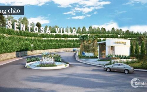 Sentosa Villa -Đất nền Biệt thự Biển, giá 10 triệu/ m2. Sở hữu lâu dài- Sổ hồng riêng. LH 0909306786