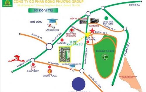 Bán đất MT Hoàng Hữu Nam , giá 55,5tr/m2 , dt 51m2 , giá từ chủ đầu tư