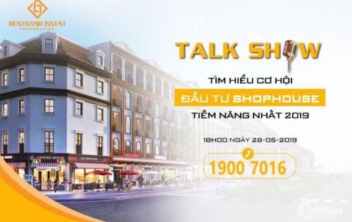"""Buổi """"TALK SHOW Cơ Hội Đầu Tư Bất Động Sản"""" duy nhất ngày 28/5/2019"""
