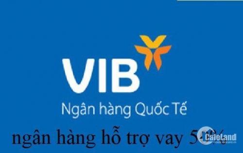 VIB hỗ trợ vay 50% thanh lý 45 nền đất, KDC Trần Văn Giàu, gần AEON Bình Tân