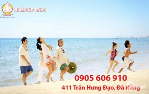 Bán đất 2 MT đường Trần Đức Thông và Phước Trường 4,Đà Nẵng 165 m2,cách biển 100m.LH:0905.606.910