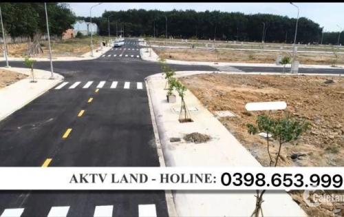 Dự án đất nền Tân Uyên, Bình Dương, gần New Times City, thổ cư 100%, VSIP 2. LH 0398653999
