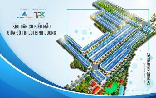 Đất Nền ngay Chợ Tân Phước Khánh, Tân Uyên