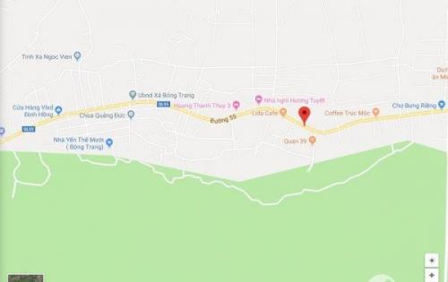 Đất mặt tiền QL55, Bông Trang, Xuyên Mộc, BRVT - 3800m2 - 7,5 tỷ