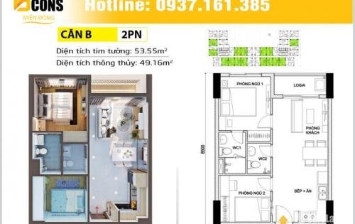Bán căn hộ City Garden, 117m2, 2 phòng ngủ, view đẹp, giá tốt 5,7 tỷ. LH: 090.3322.706