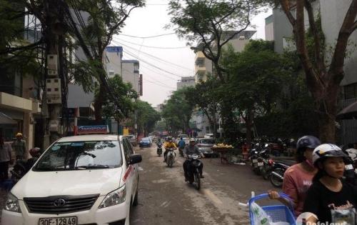 Mặt phố Dịch Vọng Hậu, nở hậu, vỉa hè. KD Nhà hàng, Spa. 54m2x6T thang máy. 14.5 tỷ