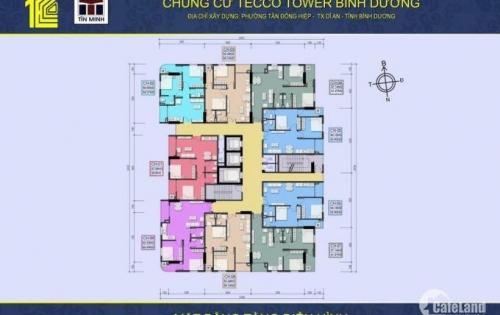 Chỉ Cần 150tr Ngay Lúc ĐẦu Là Sở Hữu Ngay Căn Hộ Tecco Tower Bình Dương , Ngay sau Visp 1 : 2PN - 2 Wc - 2 Ban công . Giá Chỉ 1 tỷ 100