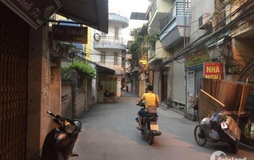 Bán nhà lô góc, ô tô vào nhà, mặt tiền 4m phố Dương Văn Bé