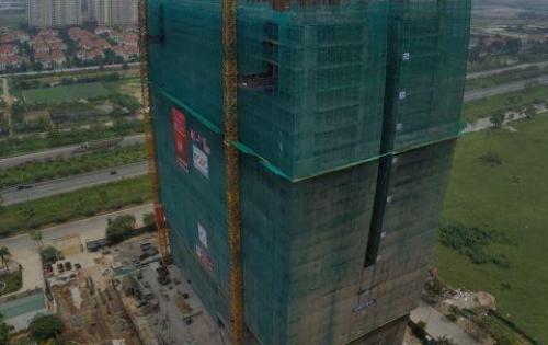 Bán căn hộ Đông tứ trạch 2PN 62m2 giá 1.285 tỷ tầng 29 Thăng Long Capital sắp cất nóc LH0972461892