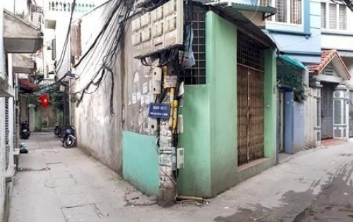 Bán gấp nhà lô góc 36.5m  ngõ 151 phố Nguyễn Đức Cảnh.