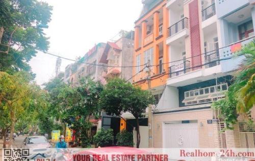 Bán nhà phố Trung Sơn mặt tiền đường 8C diện tích 100m2, nhà 5 tầng chắc chắn