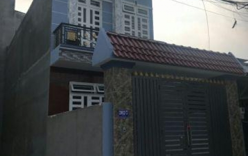 Bán nhà 1 trệt, 1 lầu Ngô Quyền gần chợ Hóc Môn, 80m2, giá 1.1 tỷ, SHR, LH 0906320294