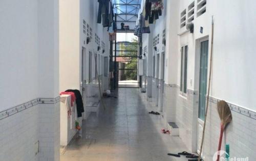 Cần bán gấp dãy trọ 10 phòng mặt tiền đường Bà Triệu, TT Hóc Môn,  Hóc Môn. 180m2 Giá 1,1 tỷ, thổ cư, sổ hồng riêng.