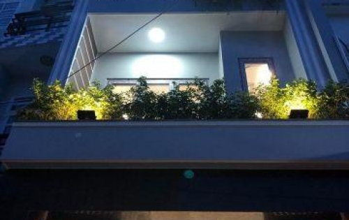Nhà - 3 tầng, sân thượng, hẻm xe hơi hẻm 1806 Huỳnh Tấn Phát, TT Nhà Bè, giáp Phú Mỹ Hưng 300m
