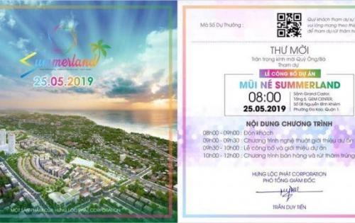 Đăng kí tham gia ngay sự kiện mở bán Summer Land của CĐT Hưng Lộc Phát
