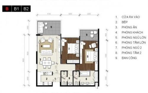 Bán căn hộ nghỉ dưỡng 2 phòng ngủ Ocean Vista