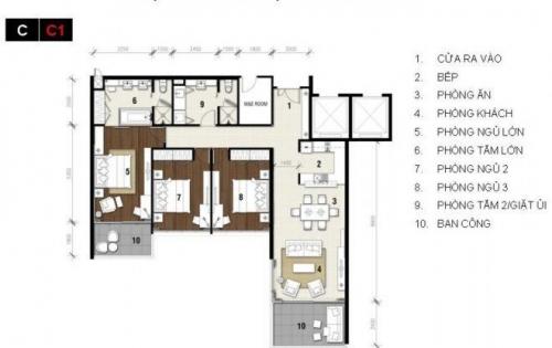 Căn hộ 3 phòng ngủ Ocean Vista Phan Thiết-Bình Thuận