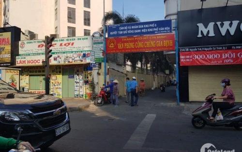 Bán nhà hẻm Nguyễn Cư Trinh , quận 1, tiện kinh doanh, giá tốt