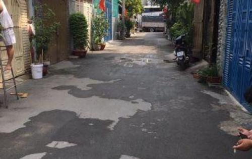 Bán nhà 1 trệt Lững 2 lầu 4x18m giá 4.4 tỷ, HXH đường Tân Chánh Hiệp 10, P. TCH, Q12.