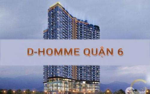 Dự án D-Homme, 765 Hồng Bàng, Quận 6. LH : 0903703952 (zalo, viber), sinh lợi ngay